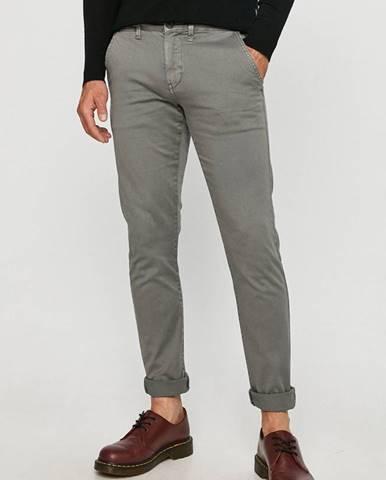 Šedé kalhoty pepe jeans