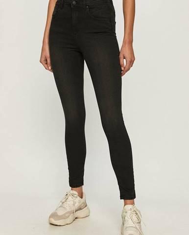 Černé kalhoty cross jeans