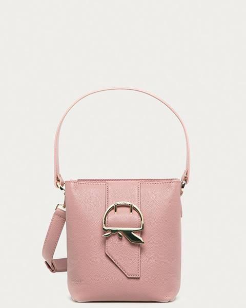 Růžová kabelka Patrizia Pepe