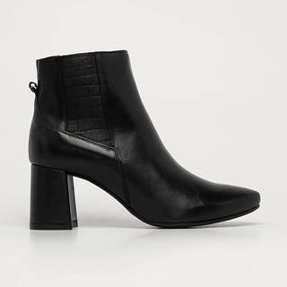 Wojas - Kožené kotníkové boty