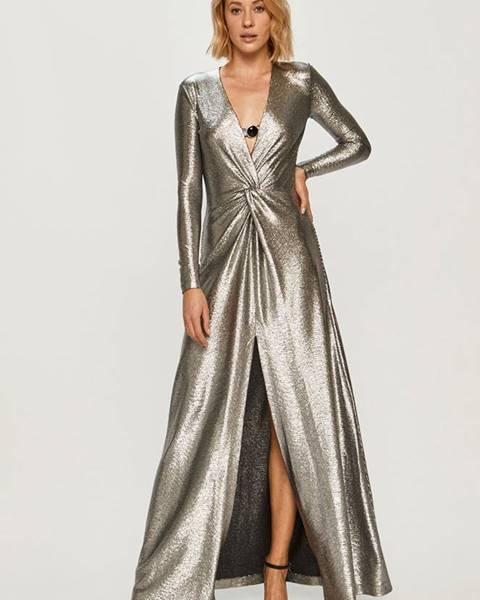 Stříbrné šaty Pinko