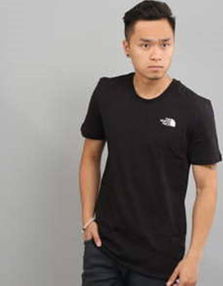 The North Face The North Face Simple Dome Tee černé