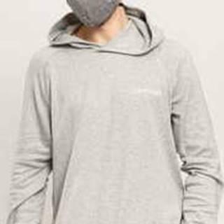 LS Hoodie C/O melange šedá XL