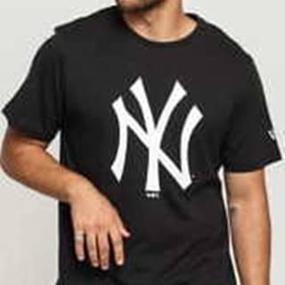 New Era MLB Team ogo Tee NY C/O černé