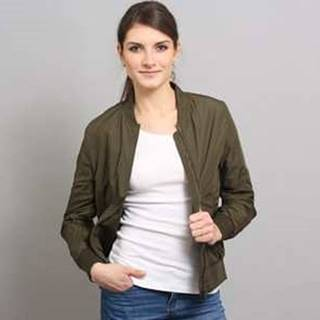 Ladies Light Bomber Jacket tmavě olivová XL
