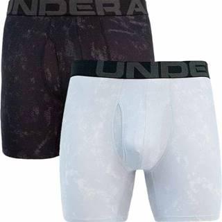 2PACK pánské boxerky Under Armour šedé