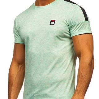 Mátové pánské tričko s potiskem