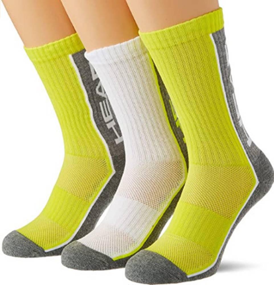 Head 3PACK ponožky HEAD vícebarevné