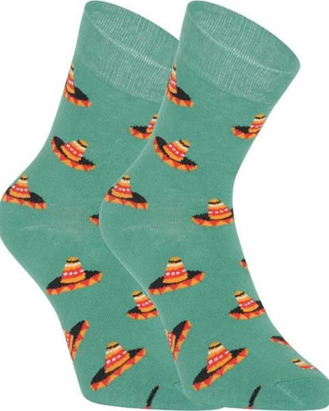 Oranžové spodní prádlo Dots Socks