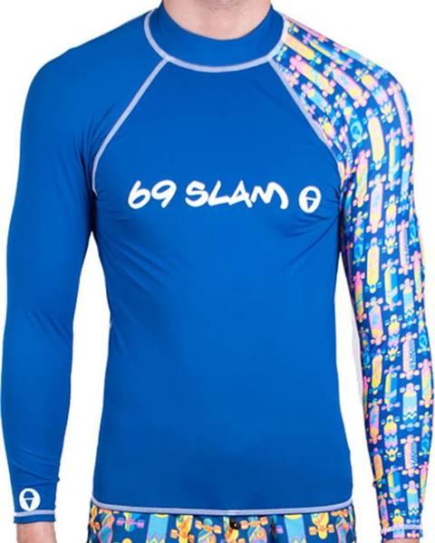 Modré tričko 69SLAM
