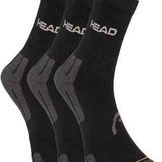 3PACK ponožky HEAD černé