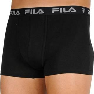 2PACK pánské boxerky Fila černé