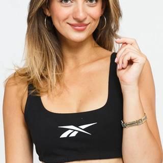 Classic PF Logo Cotton Bra černé