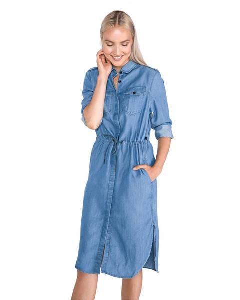 Modré šaty G-Star RAW