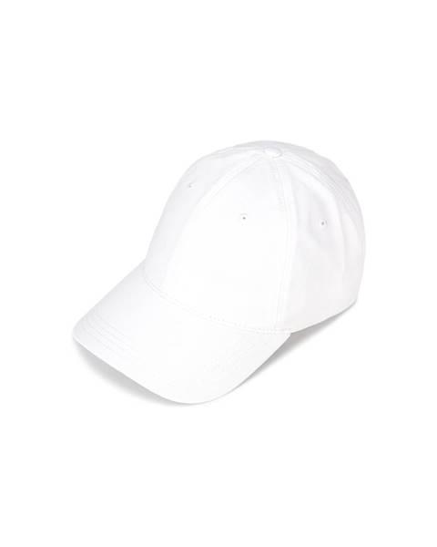 Bílá čepice lacoste