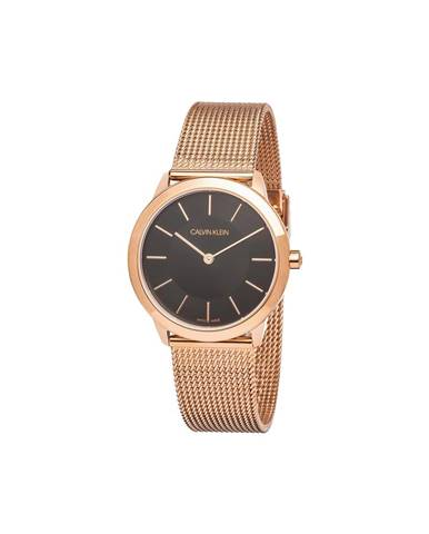 Béžové hodinky Calvin Klein