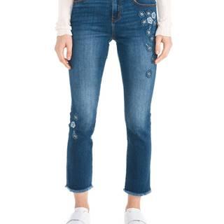 Desigual Margaritas Jeans Modrá