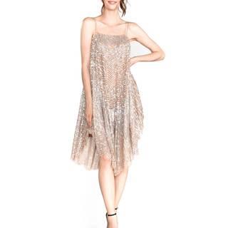 TWINSET Šaty Stříbrná
