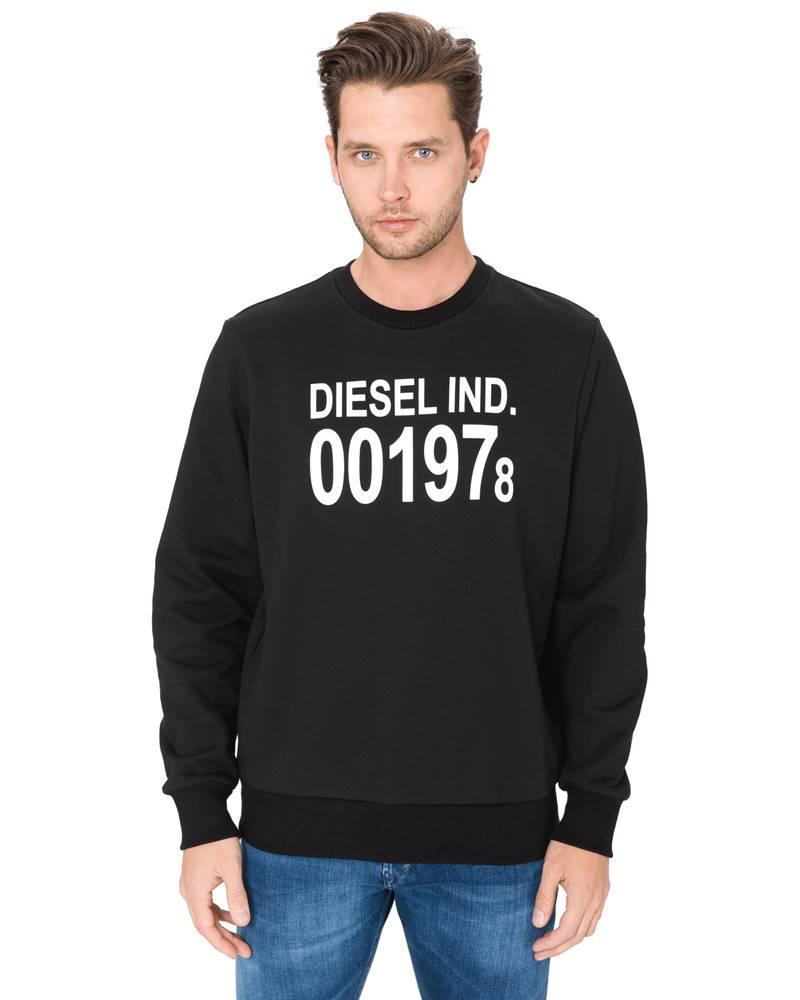 Diesel Diesel S-Girk-J3 Mikina Černá