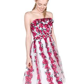 French Connection Šaty Růžová Bílá