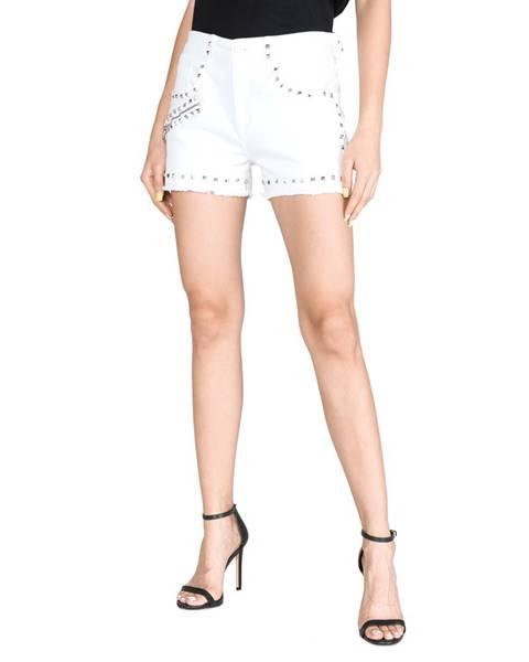 Bílé kalhoty Versace Jeans