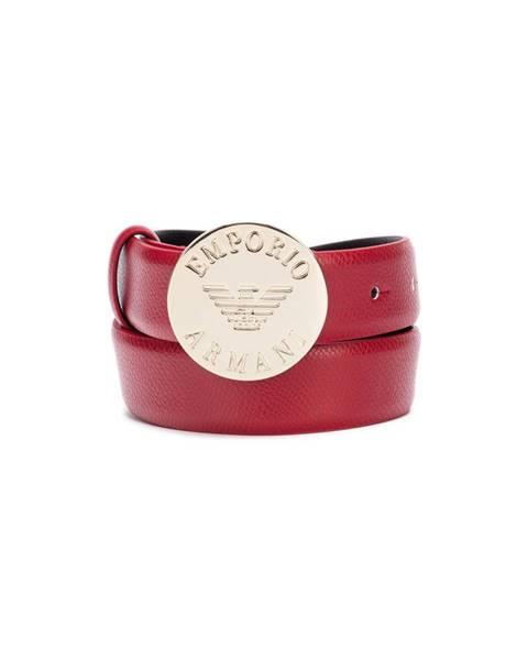Červený pásek Emporio Armani
