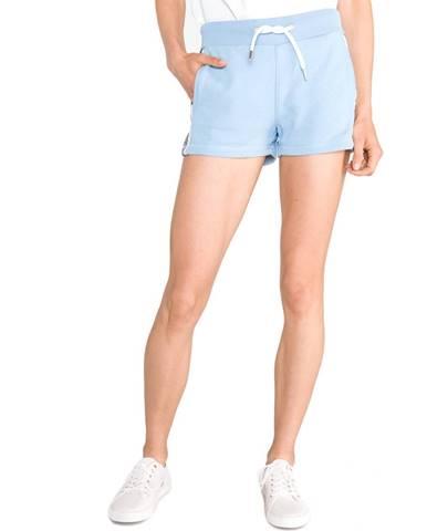 Modré kalhoty superdry