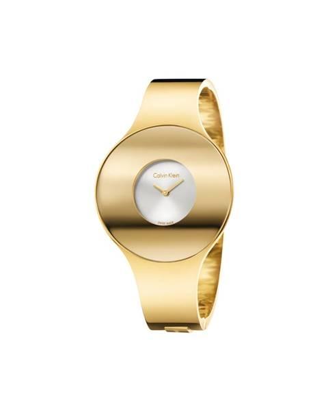 Zlaté hodinky Calvin Klein