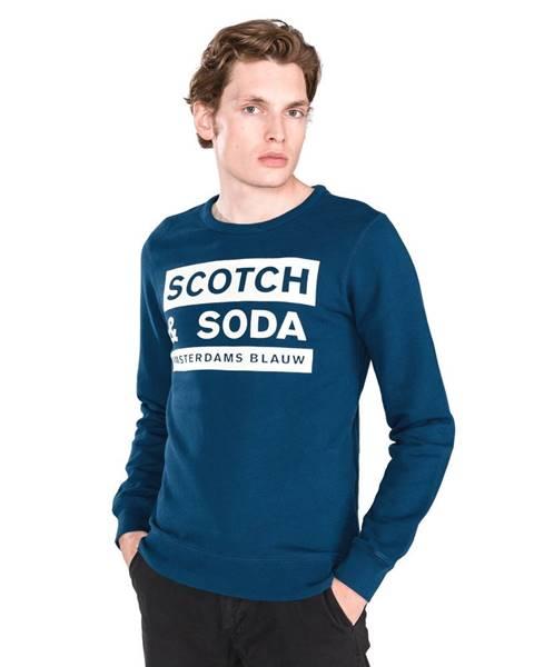 Modrá mikina scotch & soda