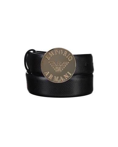 Černý pásek Emporio Armani