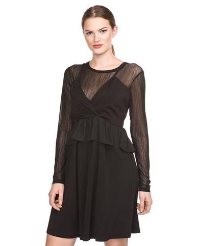 Černé šaty Silvian Heach