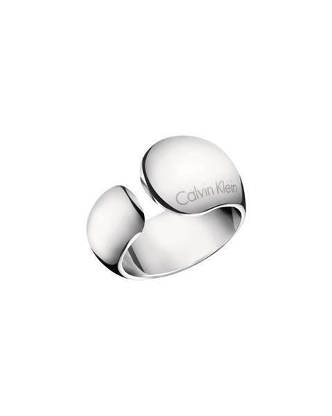 Stříbrný prsten Calvin Klein