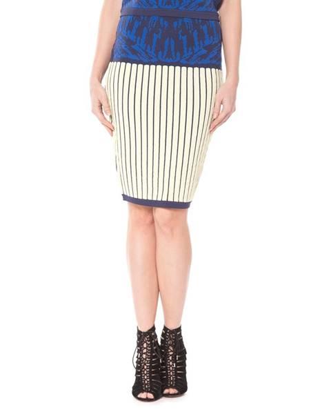 Modrá sukně Silvian Heach