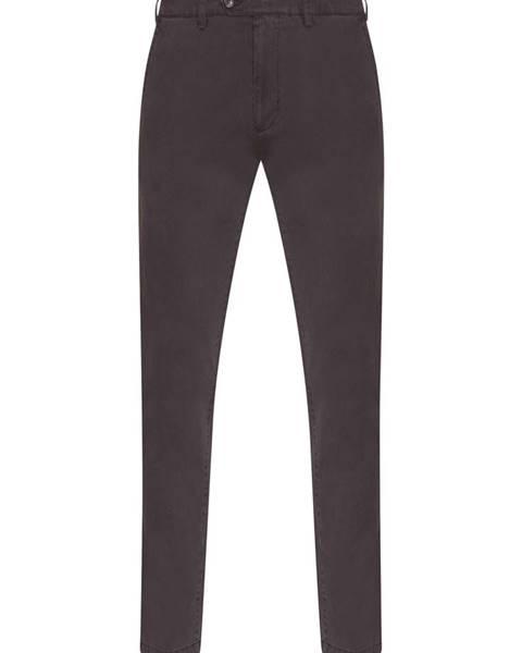 Hnědé kalhoty Pietro Filipi