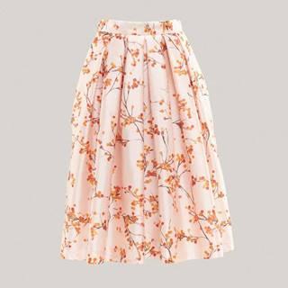 Áčková sukně s potiskem jeřabin DK6909185MFA