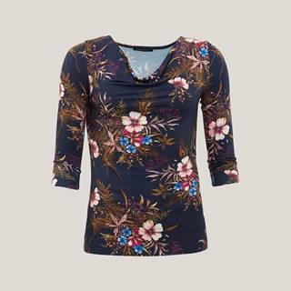 Dámské triko s květinovým potiskem DK6913256KDA