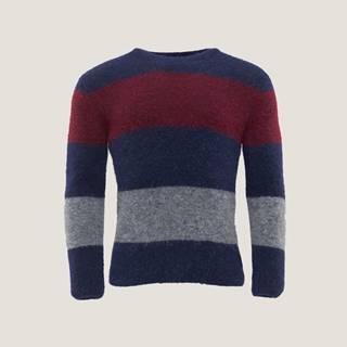 Pánský svetr s barevnými bloky PK6960073WGA