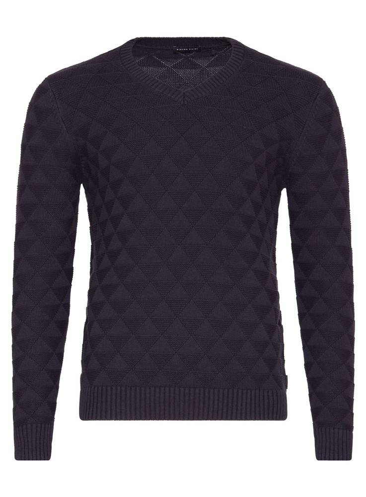 Pánský antracitový svetr se...