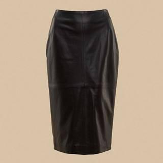 Pietro Filipi Dámská kožená sukně DZ6909130DQA
