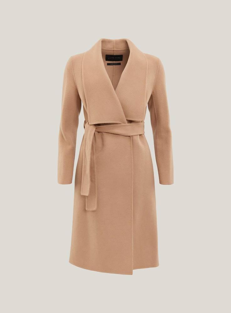 Camel kabát s vázačkou DK69...