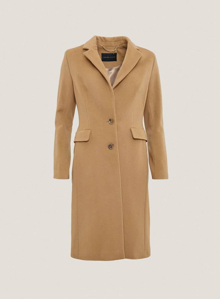 Dámský camel kabát DK690109...