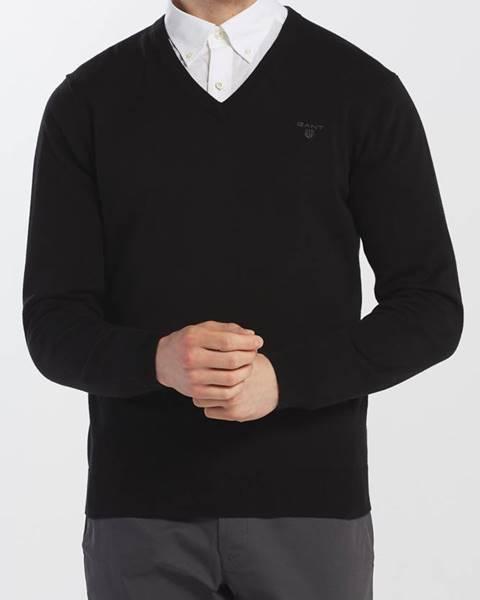 Černý svetr gant