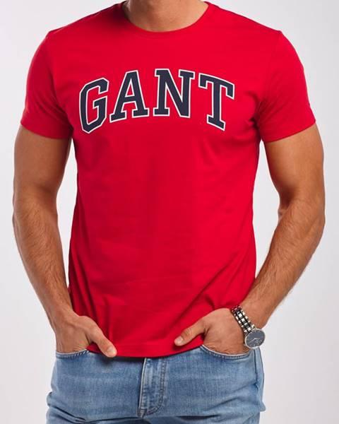 Červené tričko gant