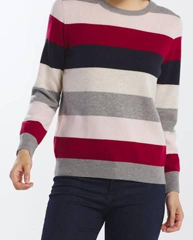 Různobarevný svetr gant