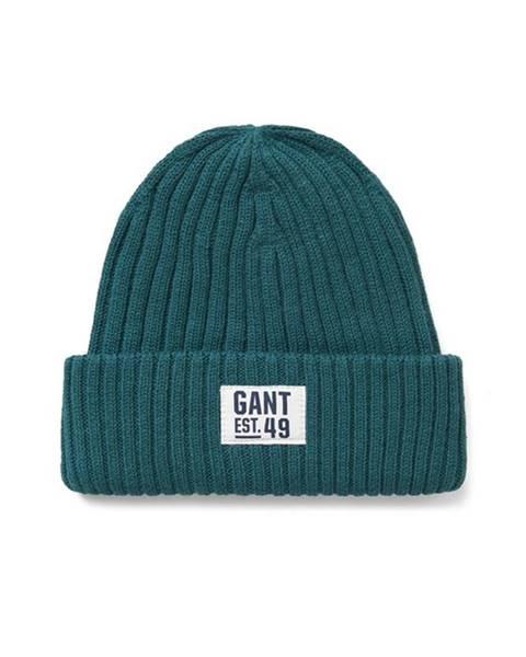 Zelená čepice gant