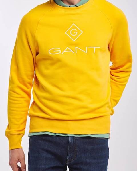 Žluté tepláky gant