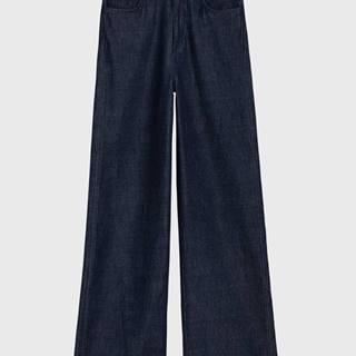 Džíny  O1. Wide Non-Cotton Jeans