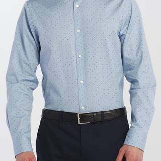 Košile  D2. Micro Polka Dot Print Reg Lbd