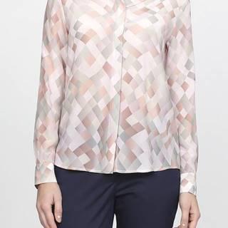 Košile Gant G2. Silk Printed Blouse