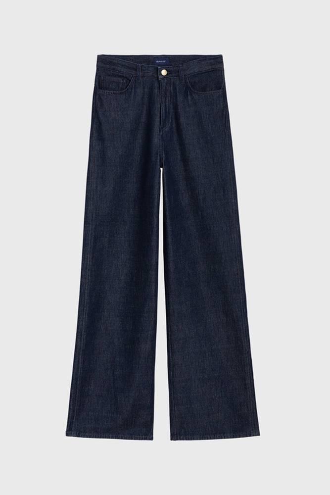 gant Džíny  O1. Wide Non-Cotton Jeans